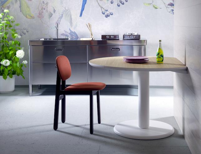 Sgabello polipropilene design miura moderno altezza sedia bar