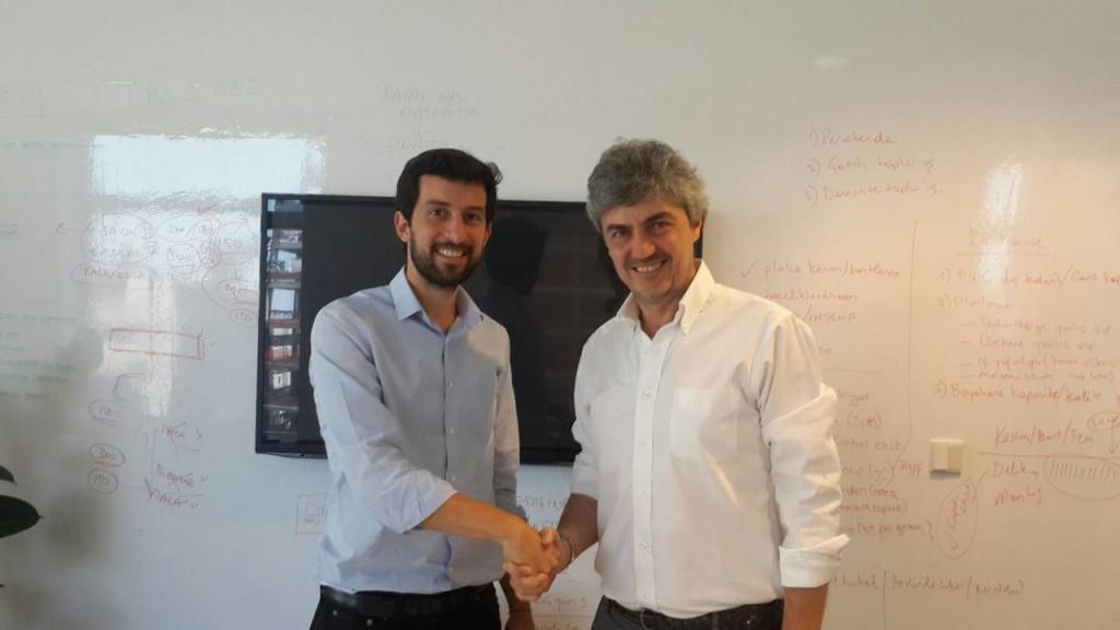 roberto berloni e Emre Eczacibasi  accordo distribuzione cucine in turchia