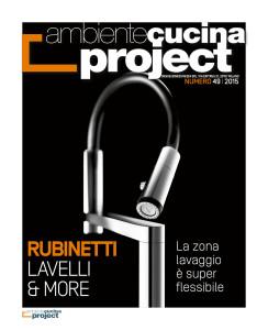 Rubinetti e lavelli per zone lavaggio sempre più flessibili Ambiente Cucina Project 49 ita