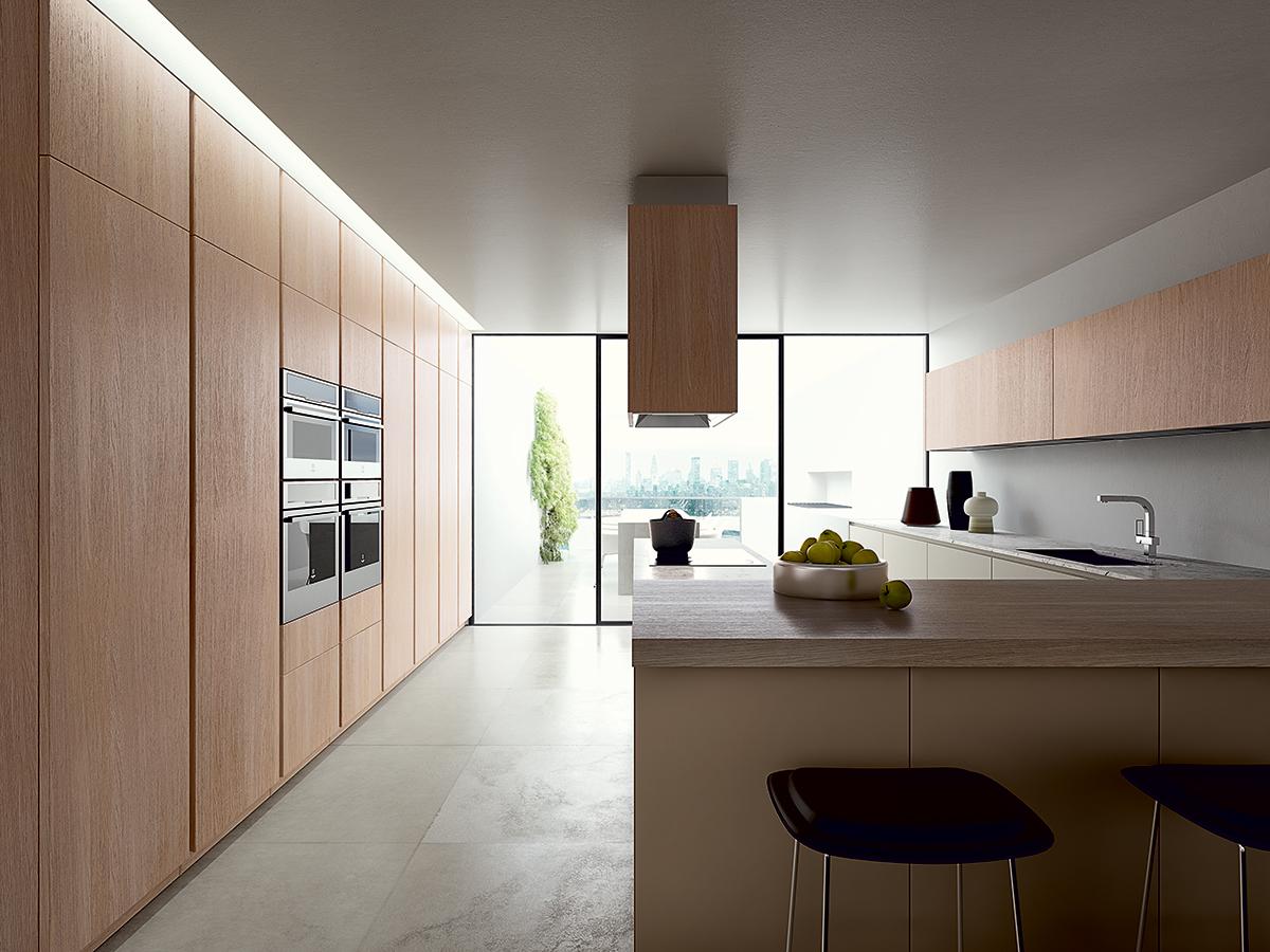 Sistema 3S per il legno massello di GeD Cucine | Ambiente Cucina