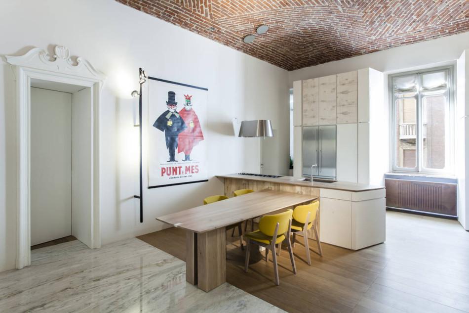 Progetto Villa sul Po - cucina