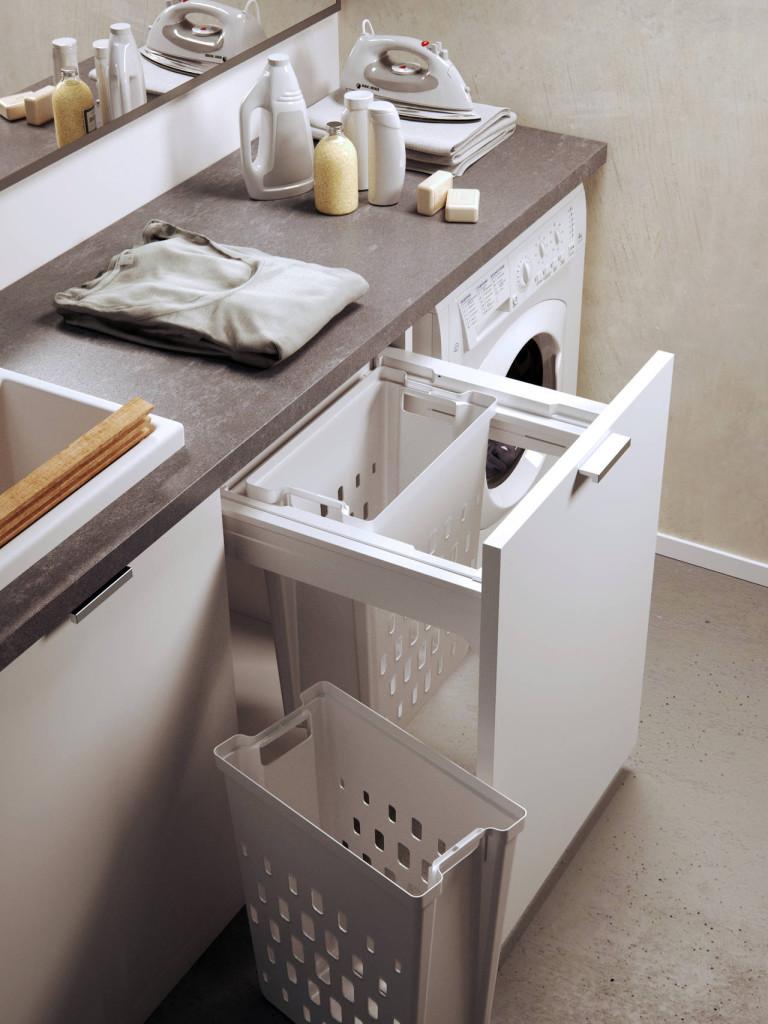 Lavanderia integrata in cucina  Ambiente Cucina
