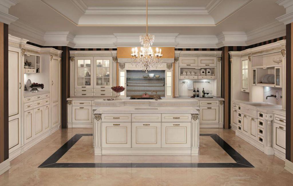 L 39 iper lusso entra in cucina ambiente cucina - Cucine di lusso italiane ...