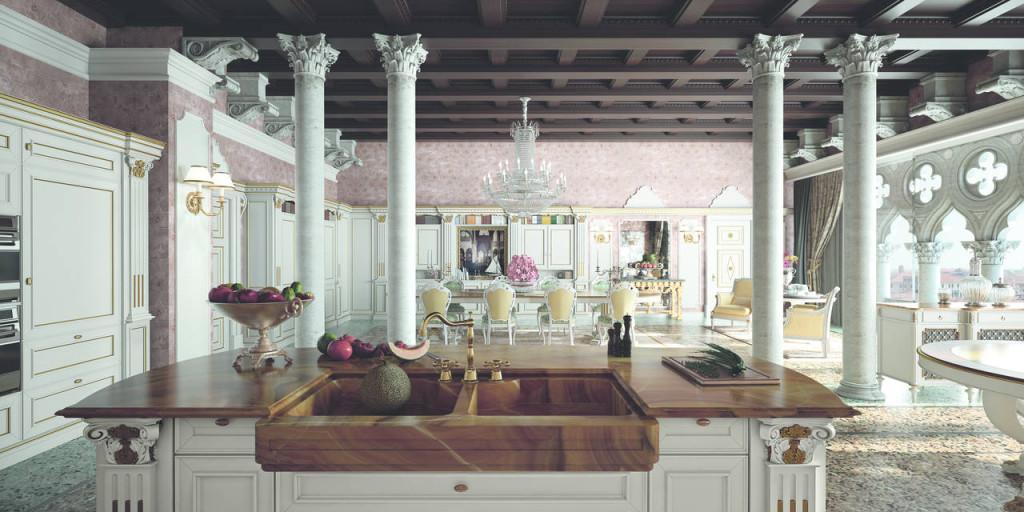 L 39 iper lusso entra in cucina ambiente cucina - Cucina di lusso ...