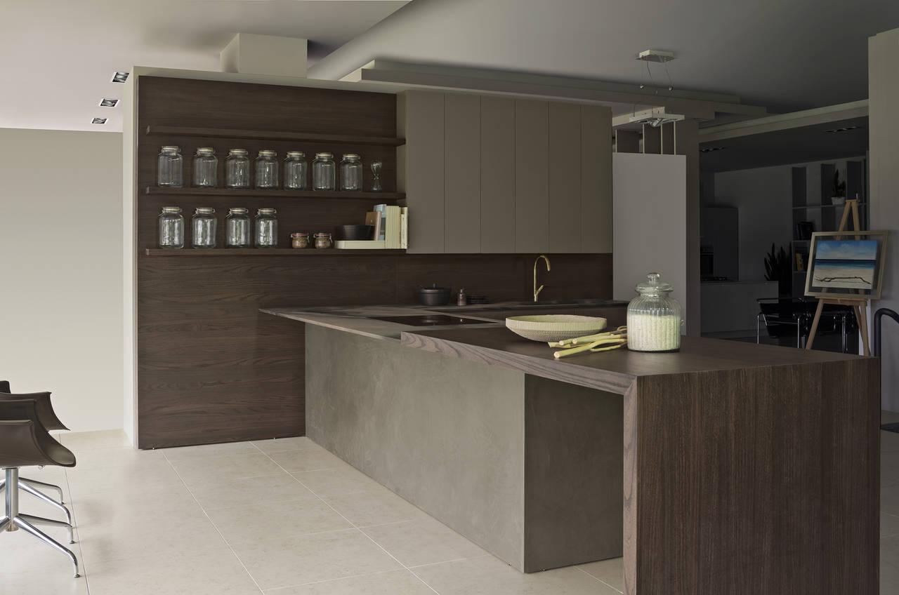 Cucina Plus di Maistri. Design Alberto Minotti