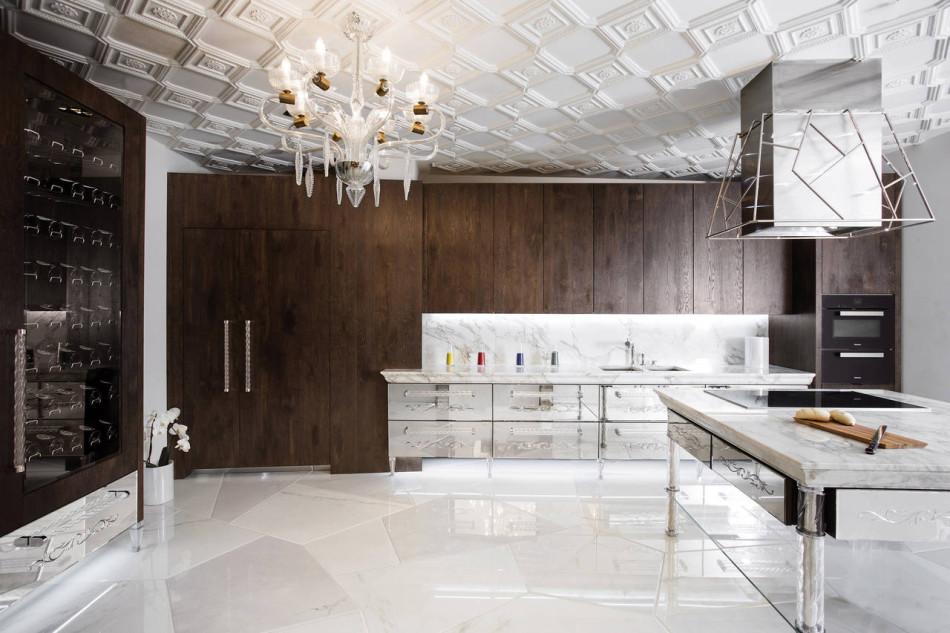 , dettagli che richiamano il passato e materiali di lusso: le cucine ...
