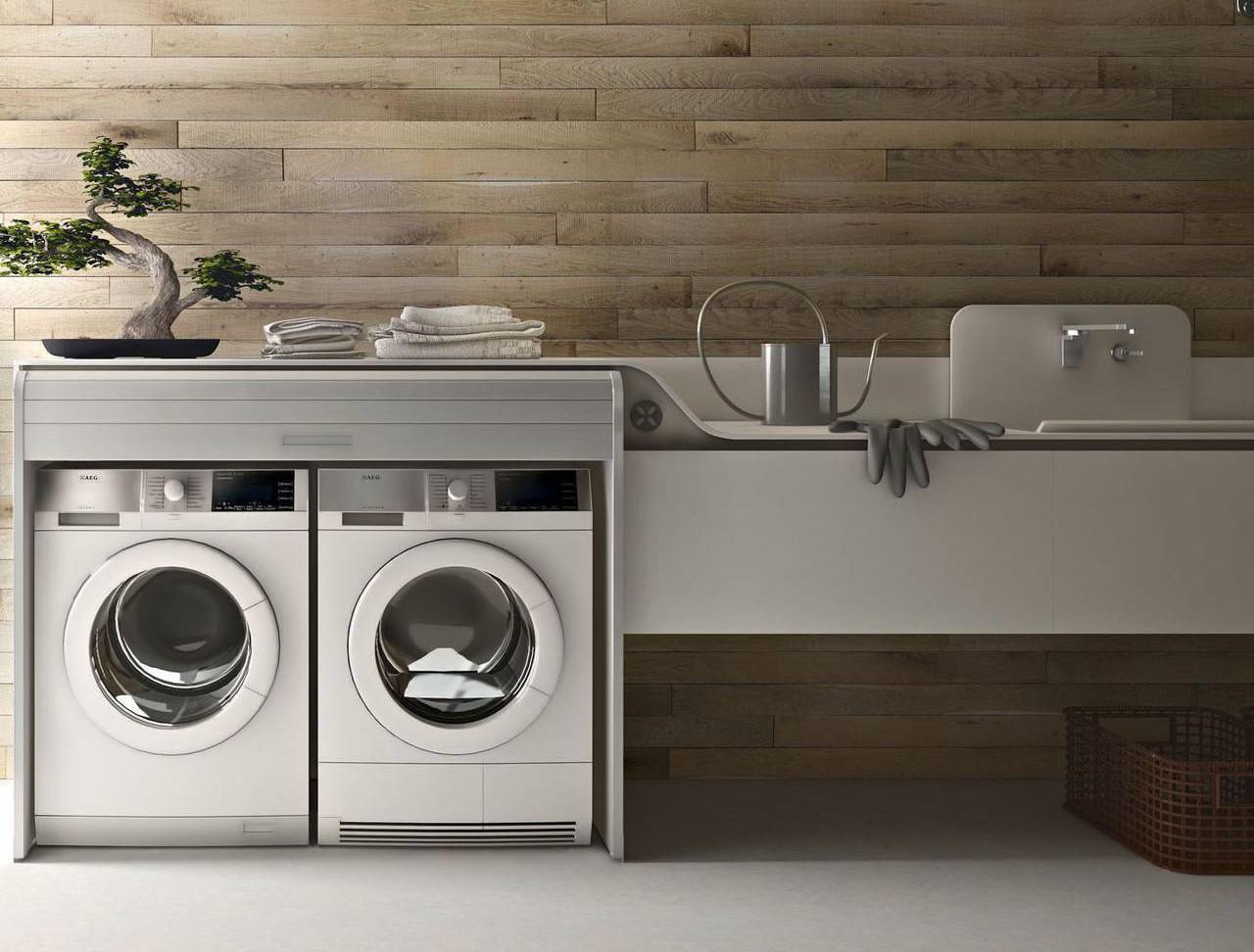 Lavanderia integrata in cucina | Ambiente Cucina
