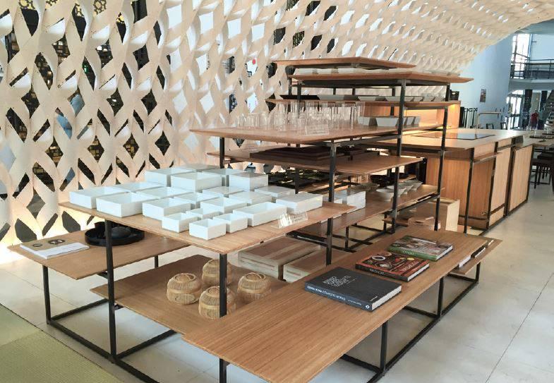 Cucina Irori - Kengo Kuma