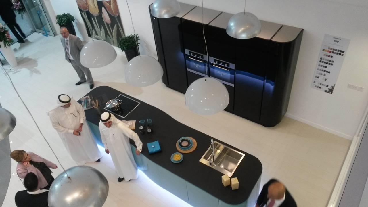 Berloni nuovo showroom doha qatar
