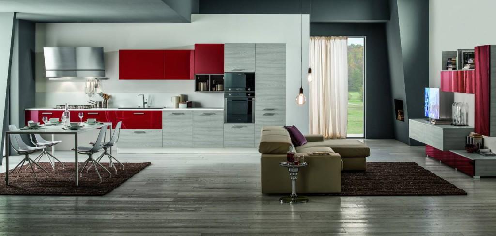 Il colore entra in cucina ambiente cucina for Pareti colorate moderne