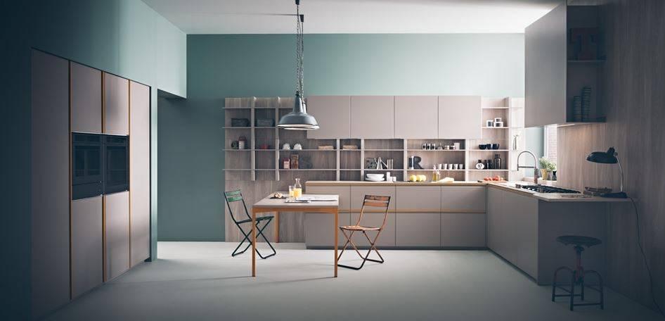 Proposta da Zampieri, Tweet (design Stefano Cavazzana), si caratterizza per il profilo in alluminio verniciato della maniglia in colori vivaci.