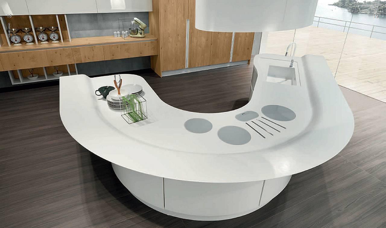 Ambiente cucina project aran cucine volare for Cucina moderna giornale