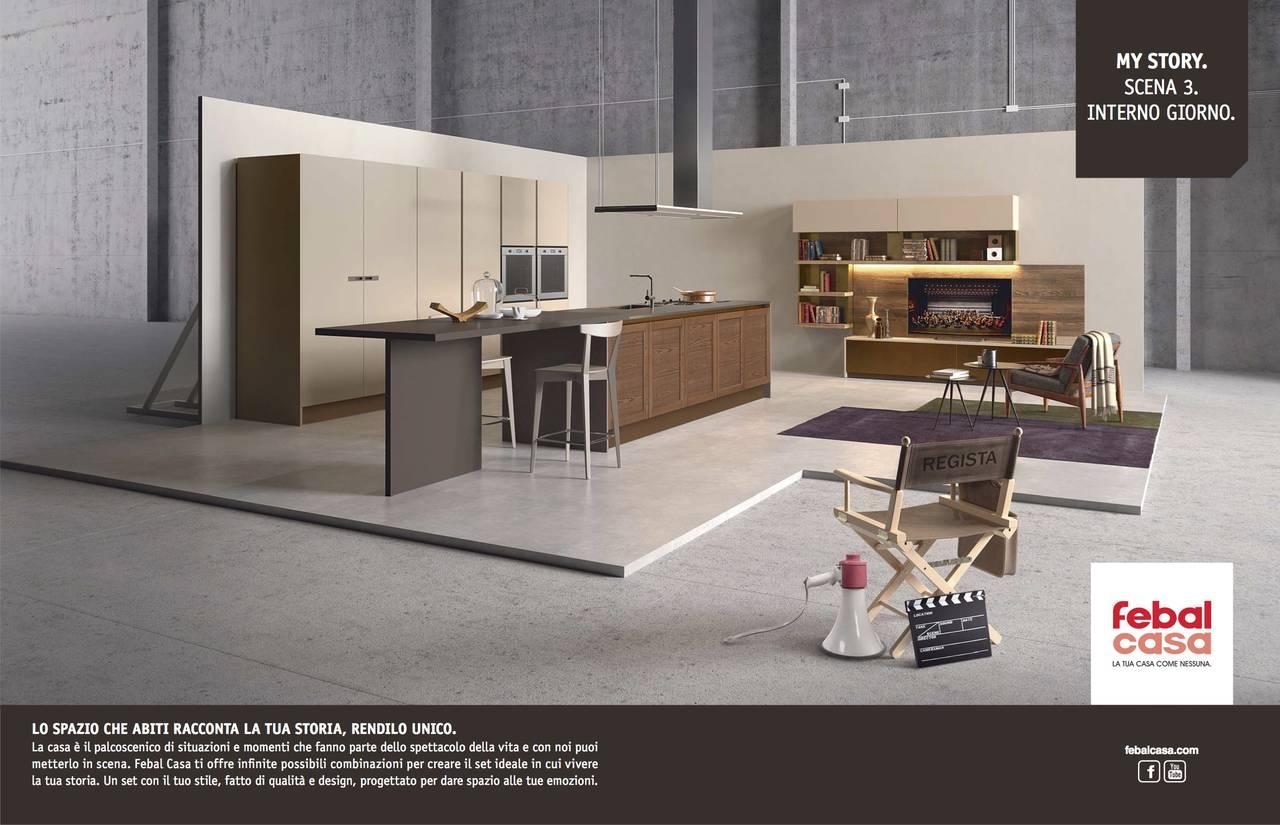 Febal casa parte la nuova campagna ad multicanale - Aziende cucine design ...