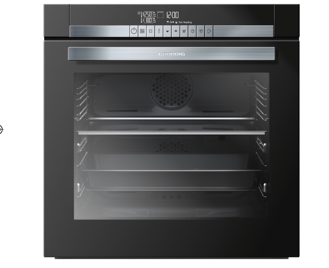 Il nuovo forno Grundig Divide&Cook che può essere diviso in due cavità autonome