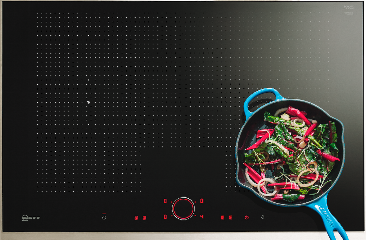 """Piano Induzione Neff Flexinduction ambiente cucina 