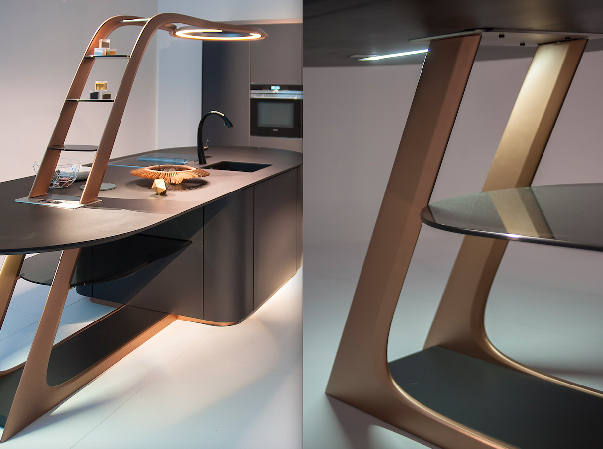 Aria by Snaidero - design Pininfarina