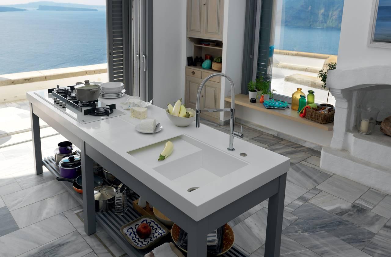 Ambiente Cucina Project n.55 | Franke | Piani di lavoro su misura ...