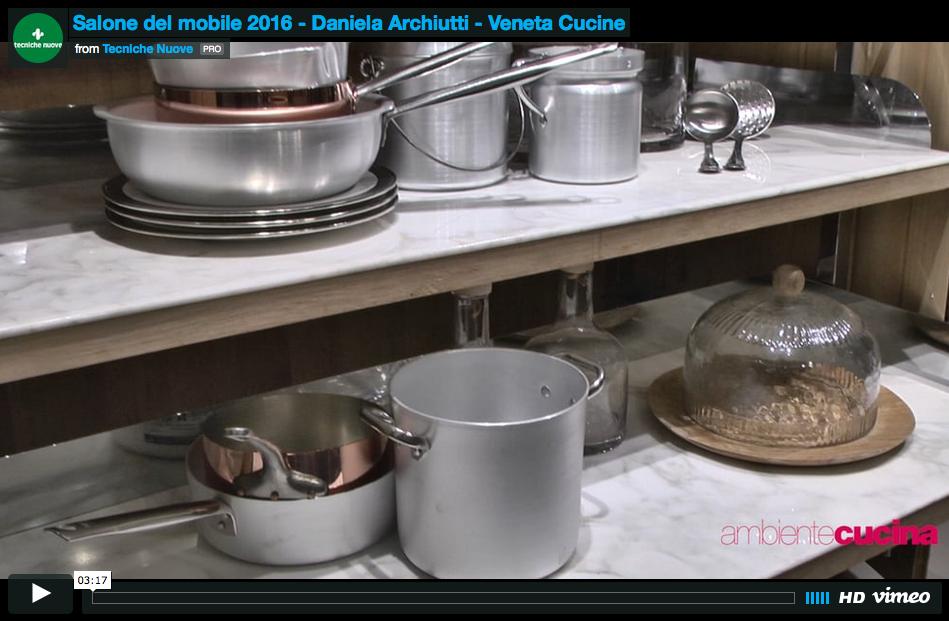 Daniela archiutti e l eccellenza diffusa di veneta cucine for Aziende cucine design