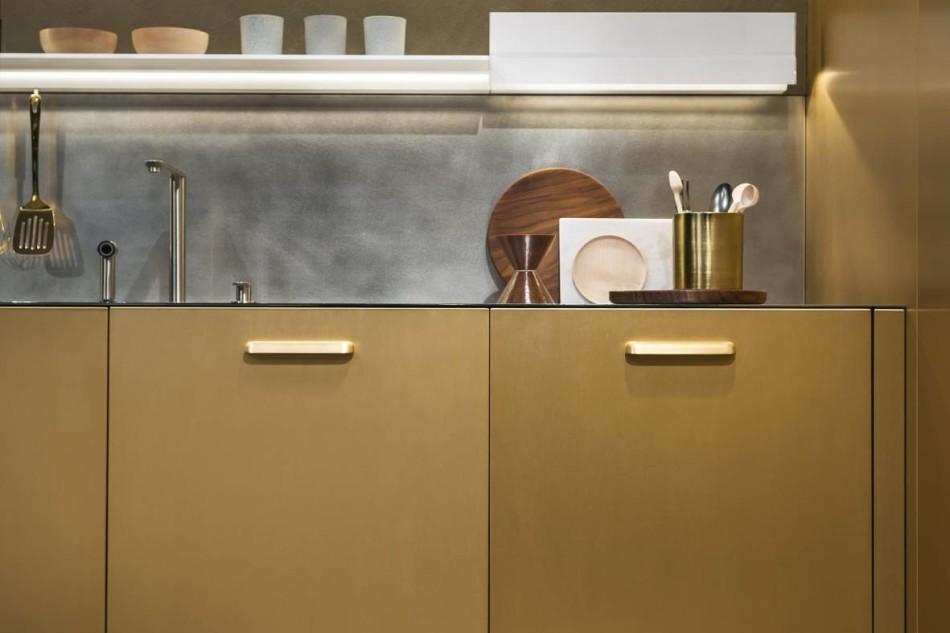 Superfici effetto metallo| Ambiente Cucina