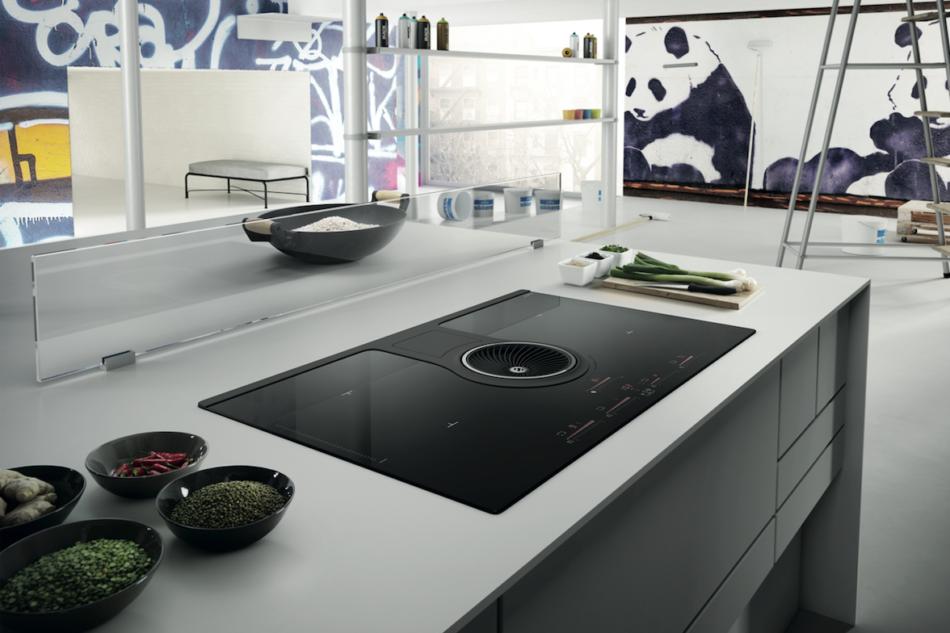 Cottura integrata e professionale ambiente cucina for Miele herdplatte