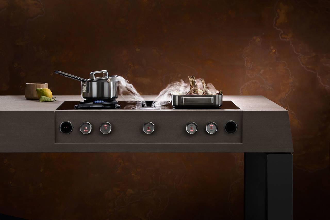 Living kitchen integrazione la parola chiave ambiente for Bora elettrodomestici