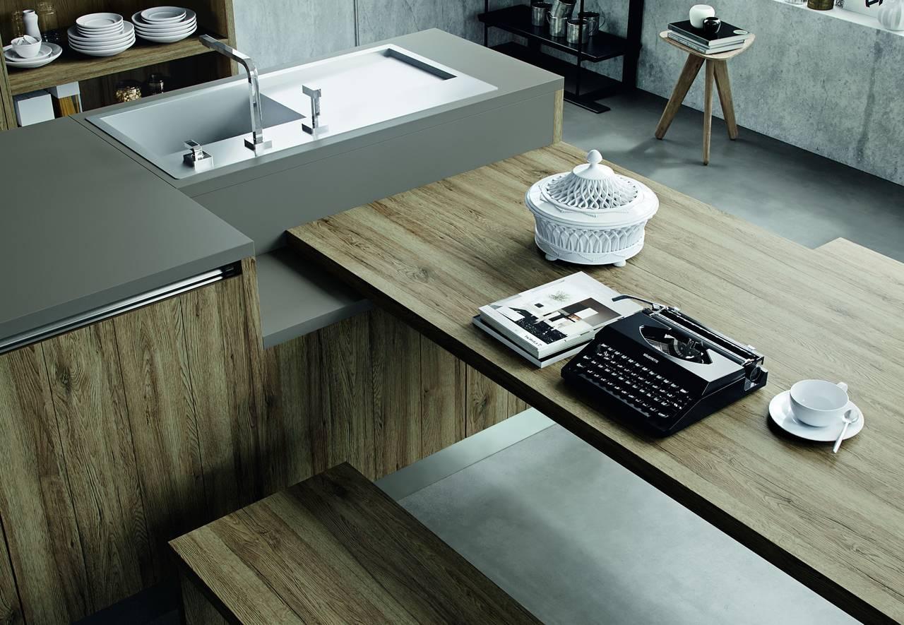 Il laminato che imita il legno | Ambiente Cucina