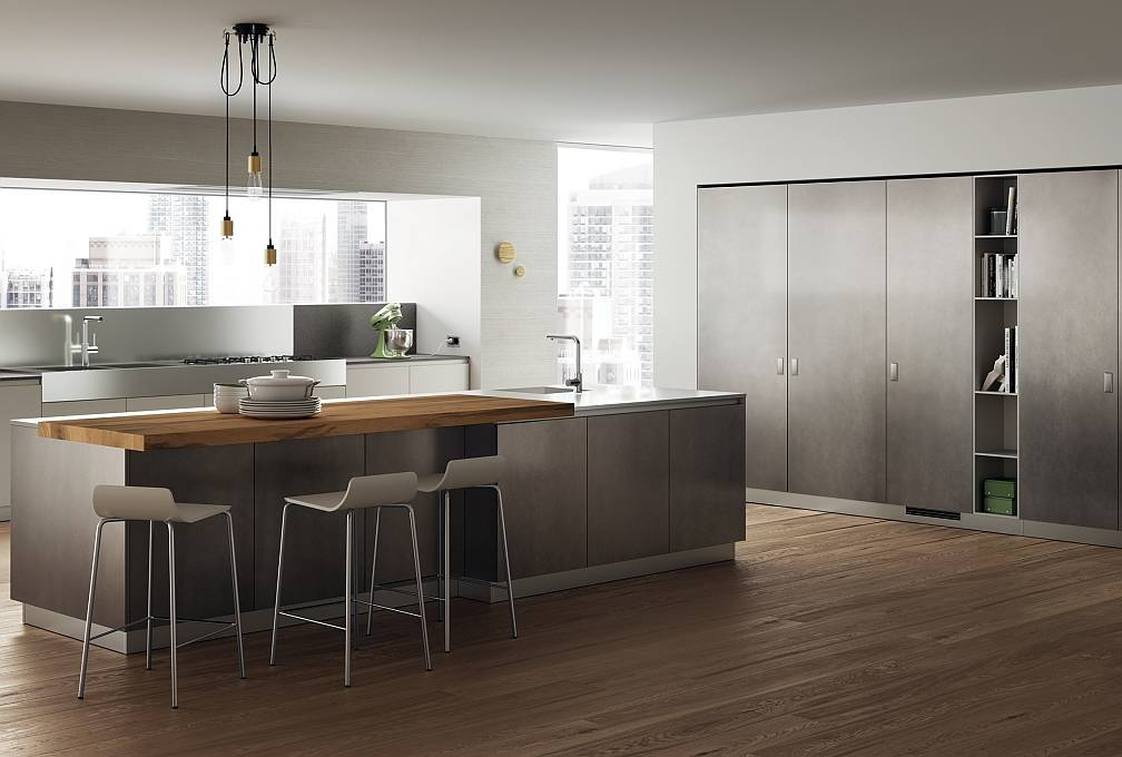 Il look audace delle cucine laccate ambiente cucina for Aziende cucine design