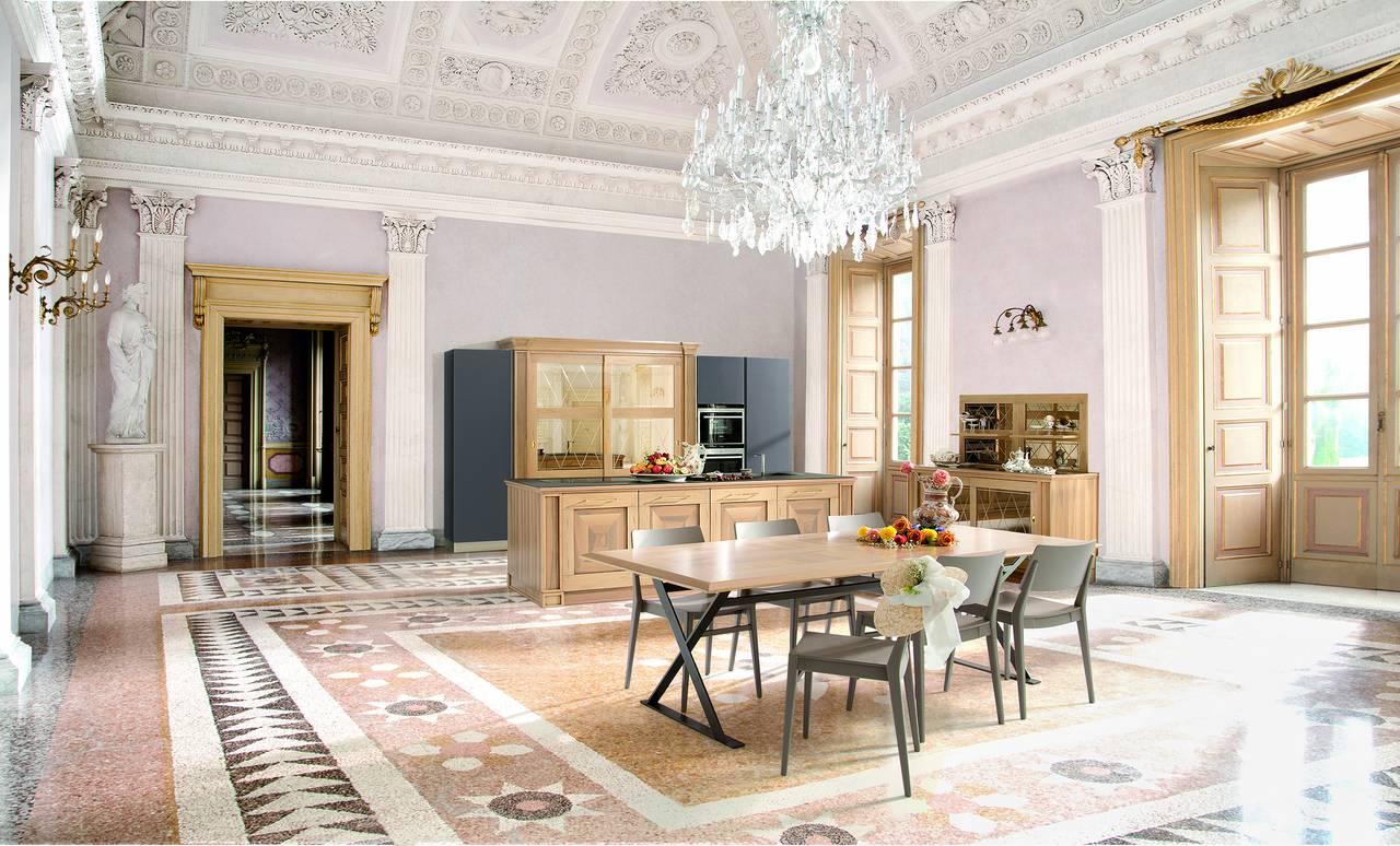 9 cucine per 9 location, dal palazzo antico al loft