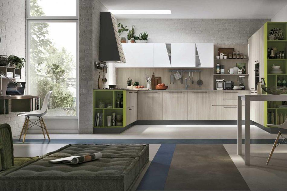 Infinity Diagonal, una delle ultime proposte di Stosa, è la cucina  che Simone Rugiati utilizzerà per lo showcooking