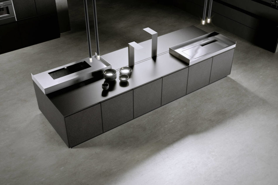 AKB08 by Arrital nella versione Fenix NTM®  Piombo Doha che nel catalogo rappresenta il Concept 1