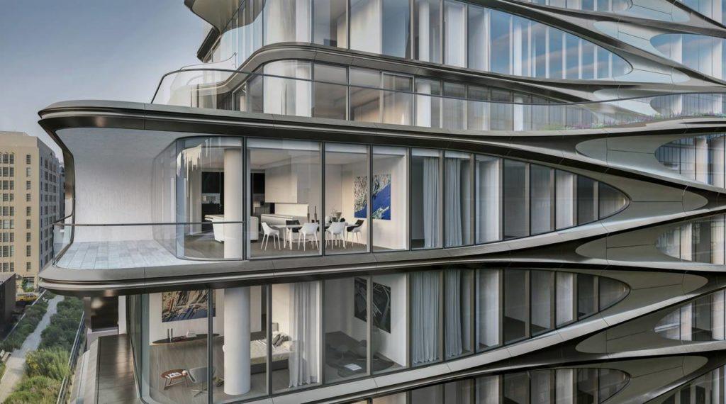Il building residenziale520 West 28th St, firmato da Zaha Hadid Architetcts