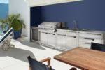 Il design inossidabile delle cucine outdoor