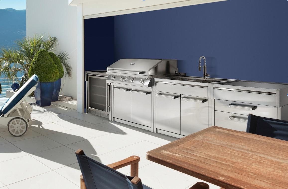 Il design inossidabile delle cucine outdoor ambiente cucina for Cucine designer