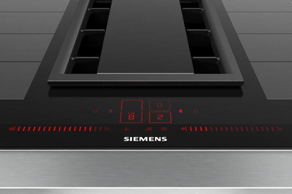 Siemens presenta il piano a induzione con cappa integrata ...