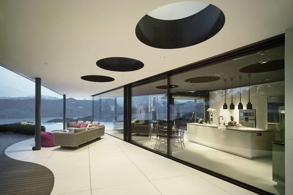 Design e decor per la cucina Boffi a Lucerna