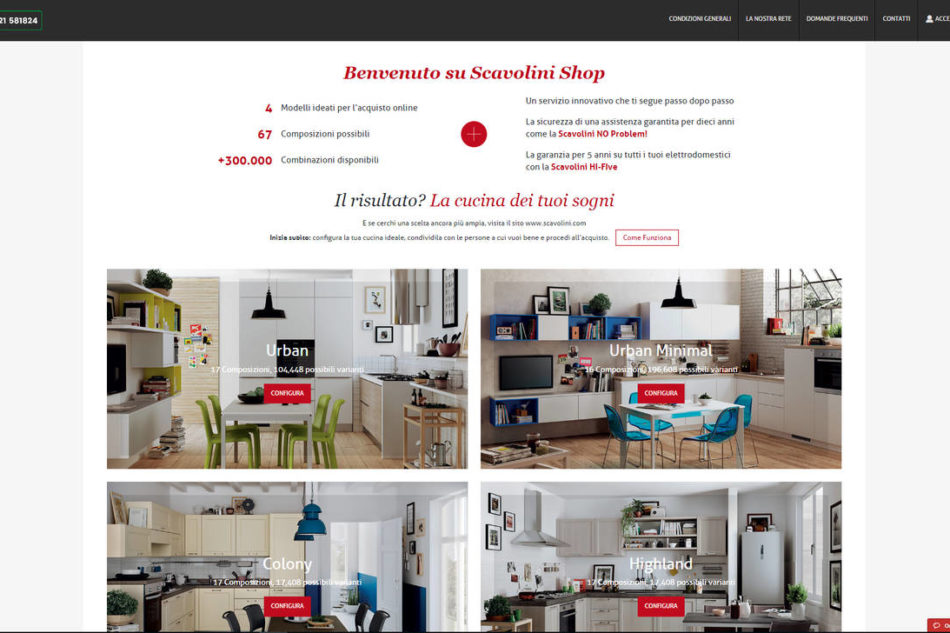 scavolini shop, la cucina si compra online | ambiente cucina - Progettazione Cucine Online