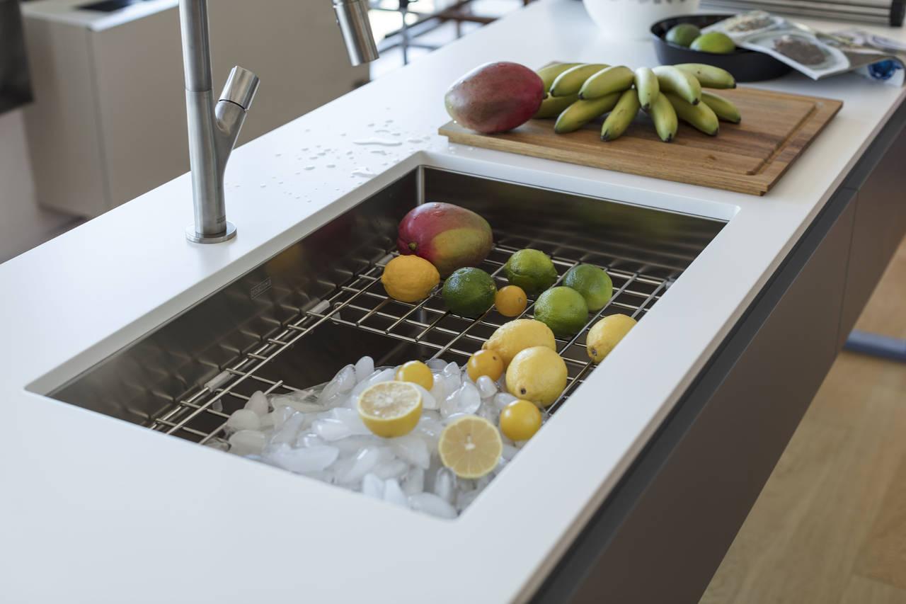Le vasche franke stile e funzionalit ambiente cucina - Vasca cucina fragranite ...