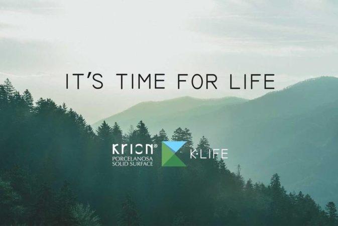 K-Life, la nuova solid surface che purifica l'aria ed elimina i batteri