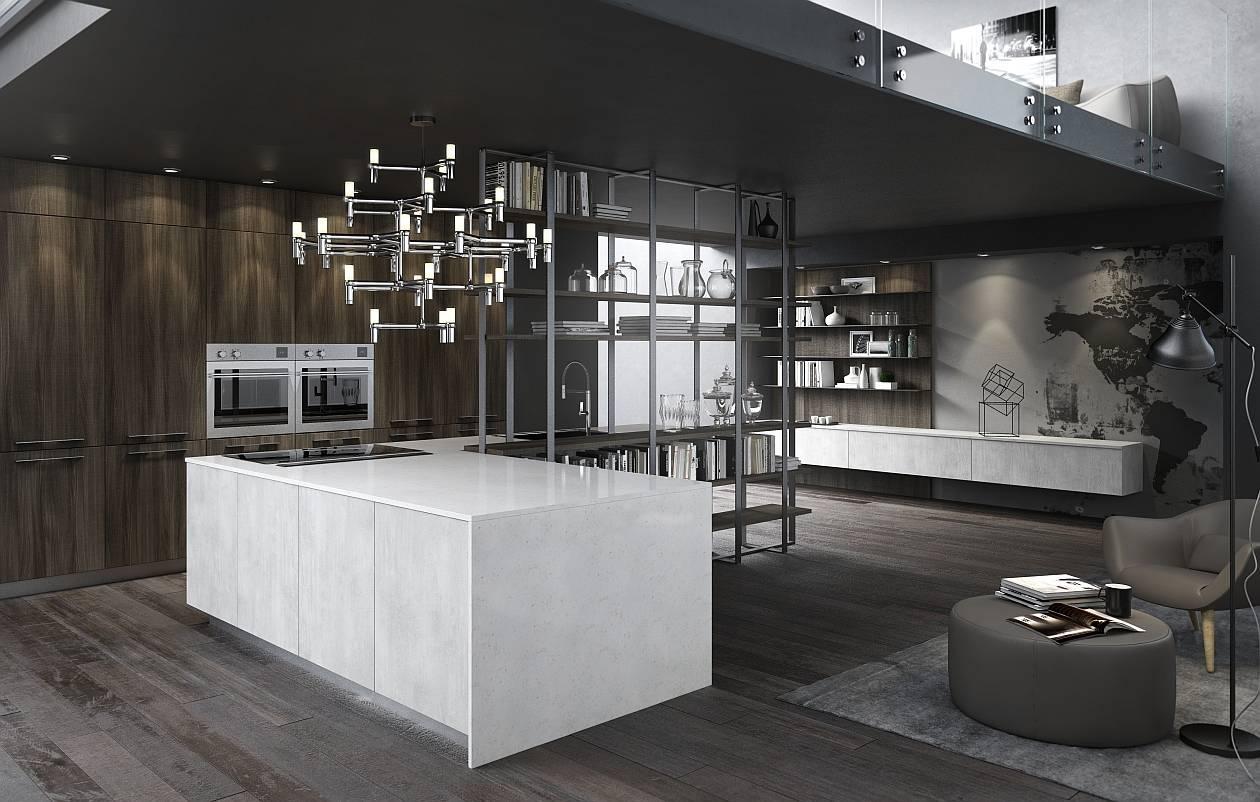 La bellezza e la forza delle cucine con top in Quarzo | Ambiente ...