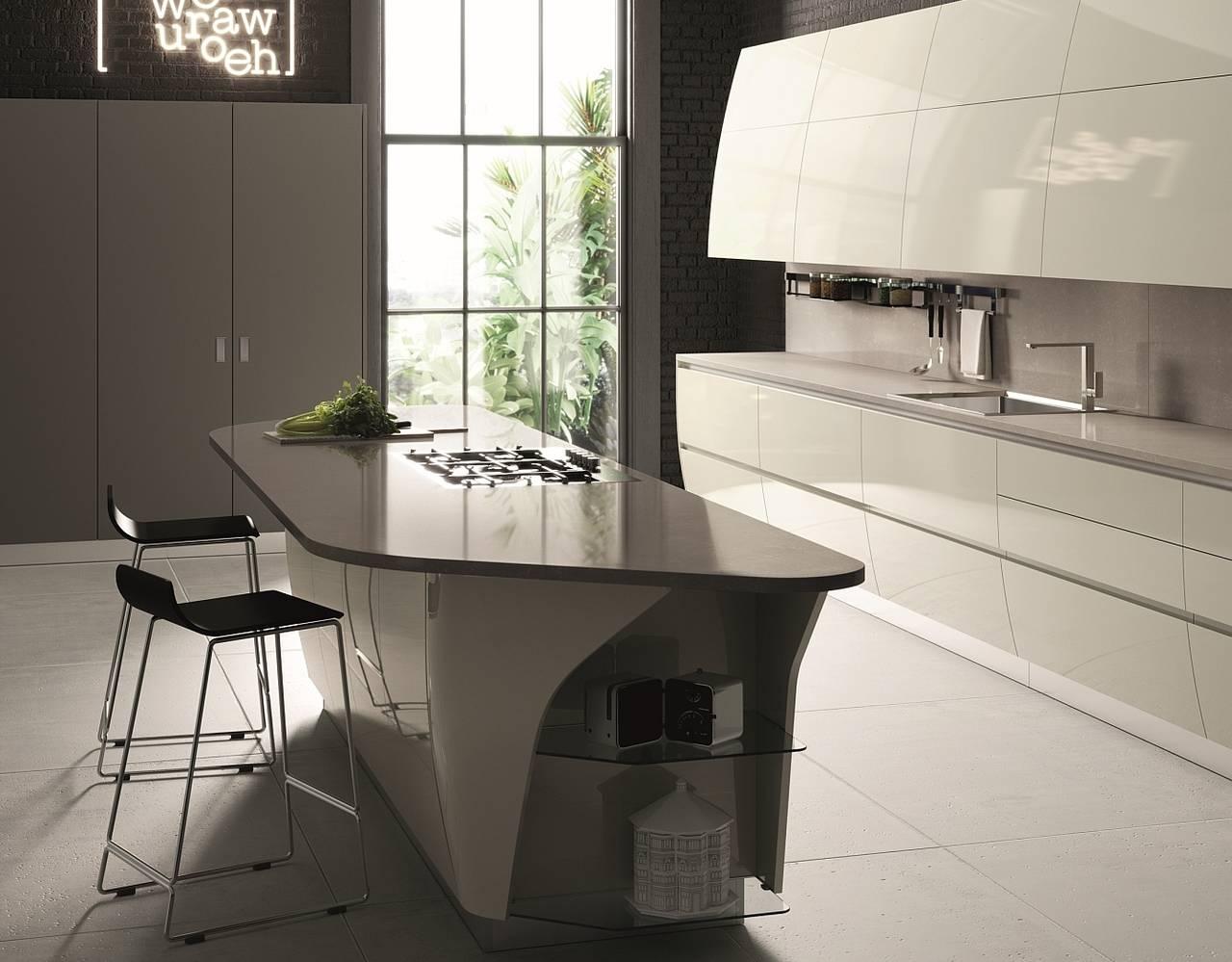 La Bellezza E La Forza Delle Cucine Con Top In Quarzo Ambiente Cucina