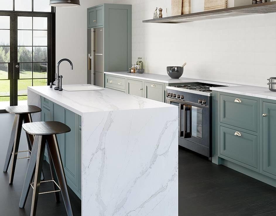 Cucina Con Piano In Quarzo.Le Qualita Infinite Dei Nuovi Piani In Quarzo Ambiente Cucina