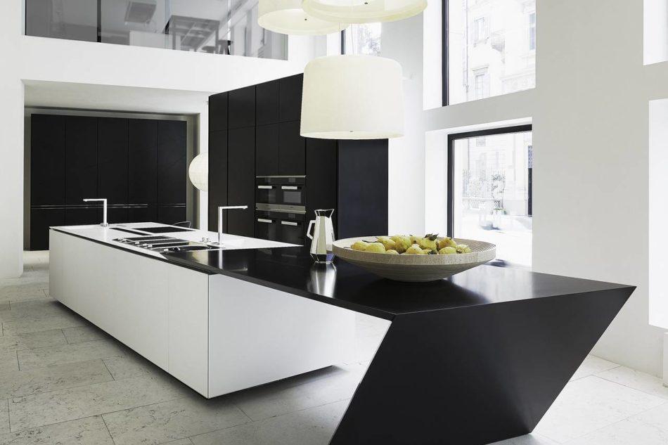 Le cucine in solid surface: il design incontra l'architettura
