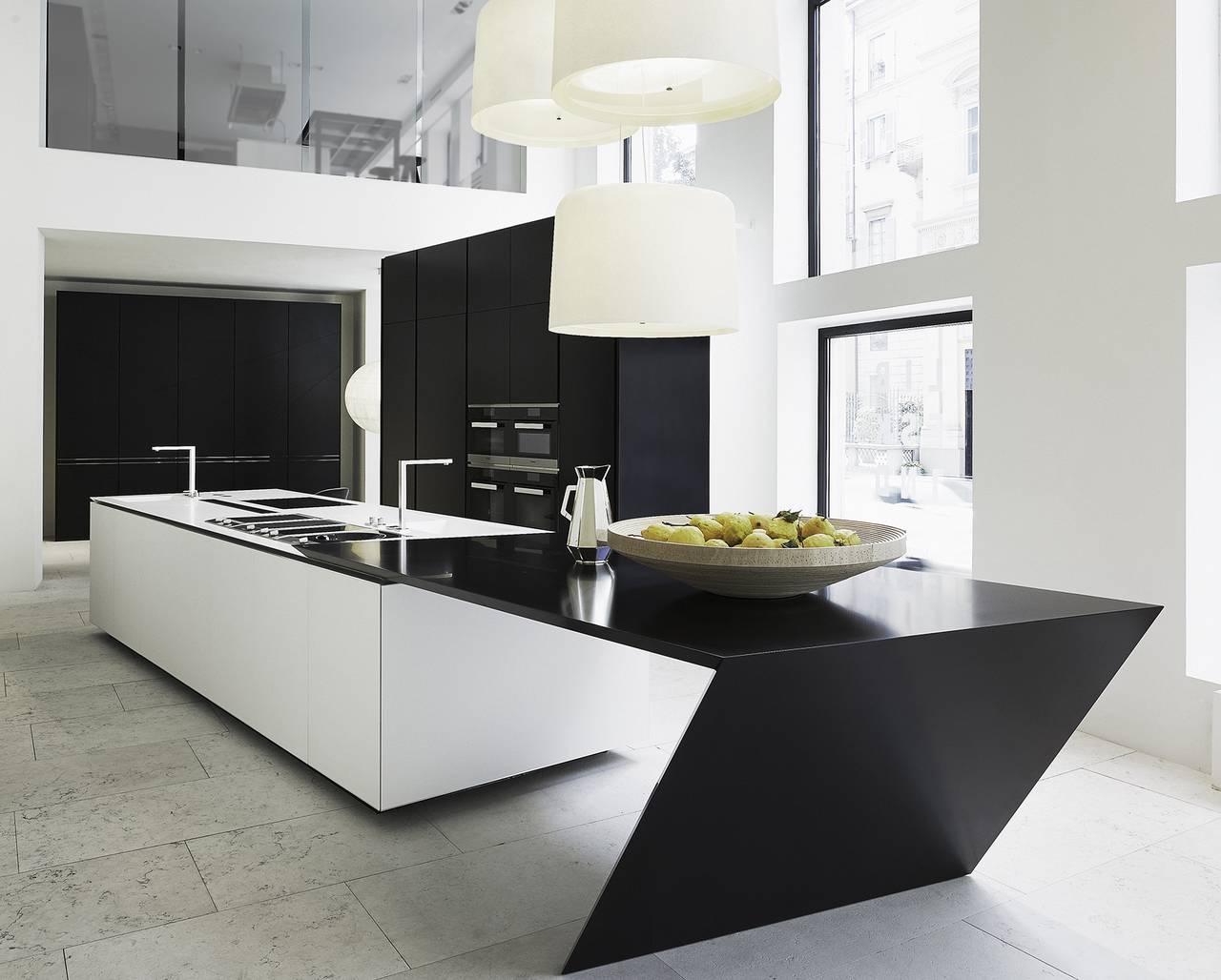 Nelle cucine in solid surfaces il design incontra l - Aziende cucine design ...