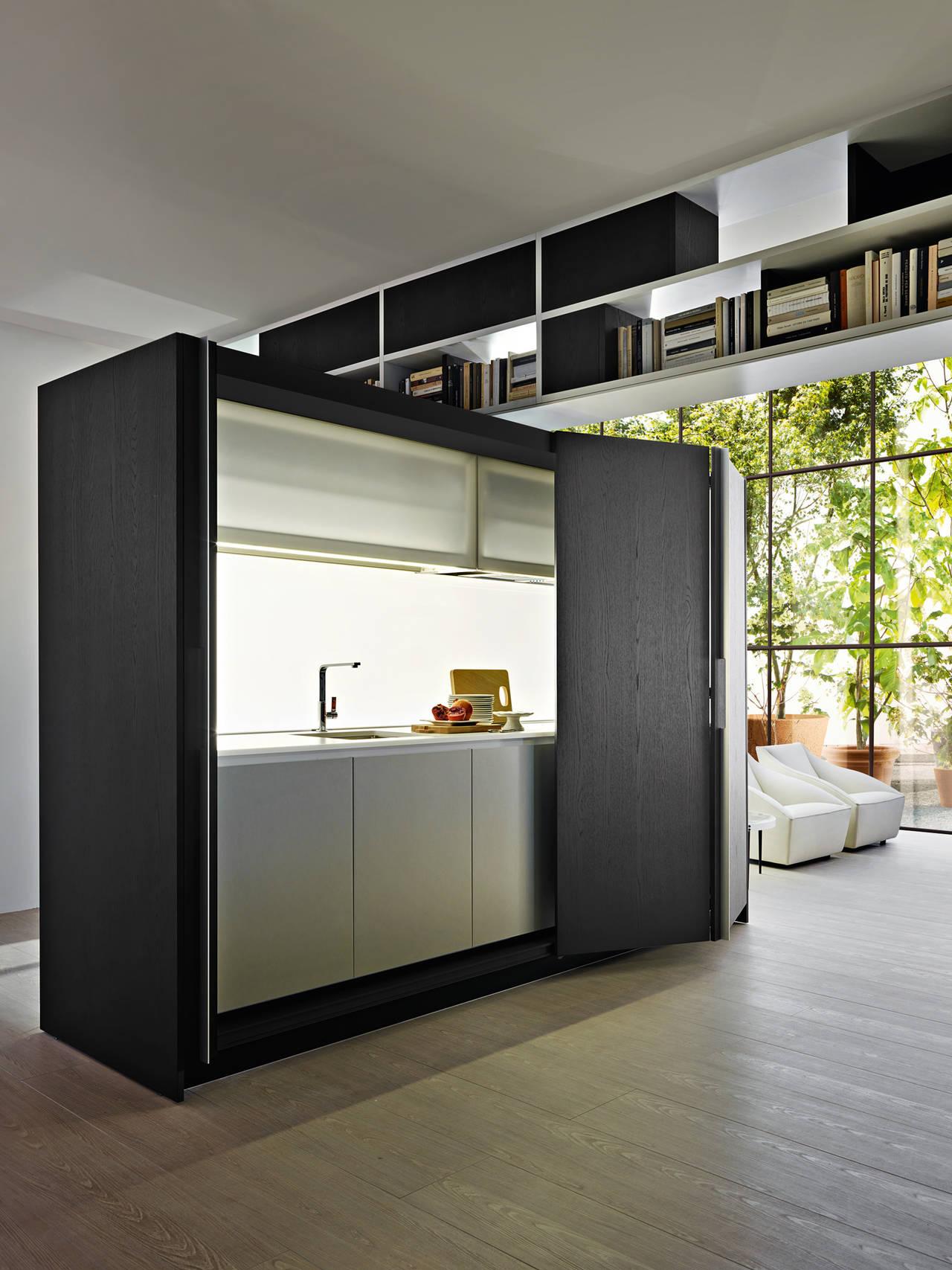 Mini Cucine A Scomparsa cucine in formato compatto, creative e mini per piccoli spazi