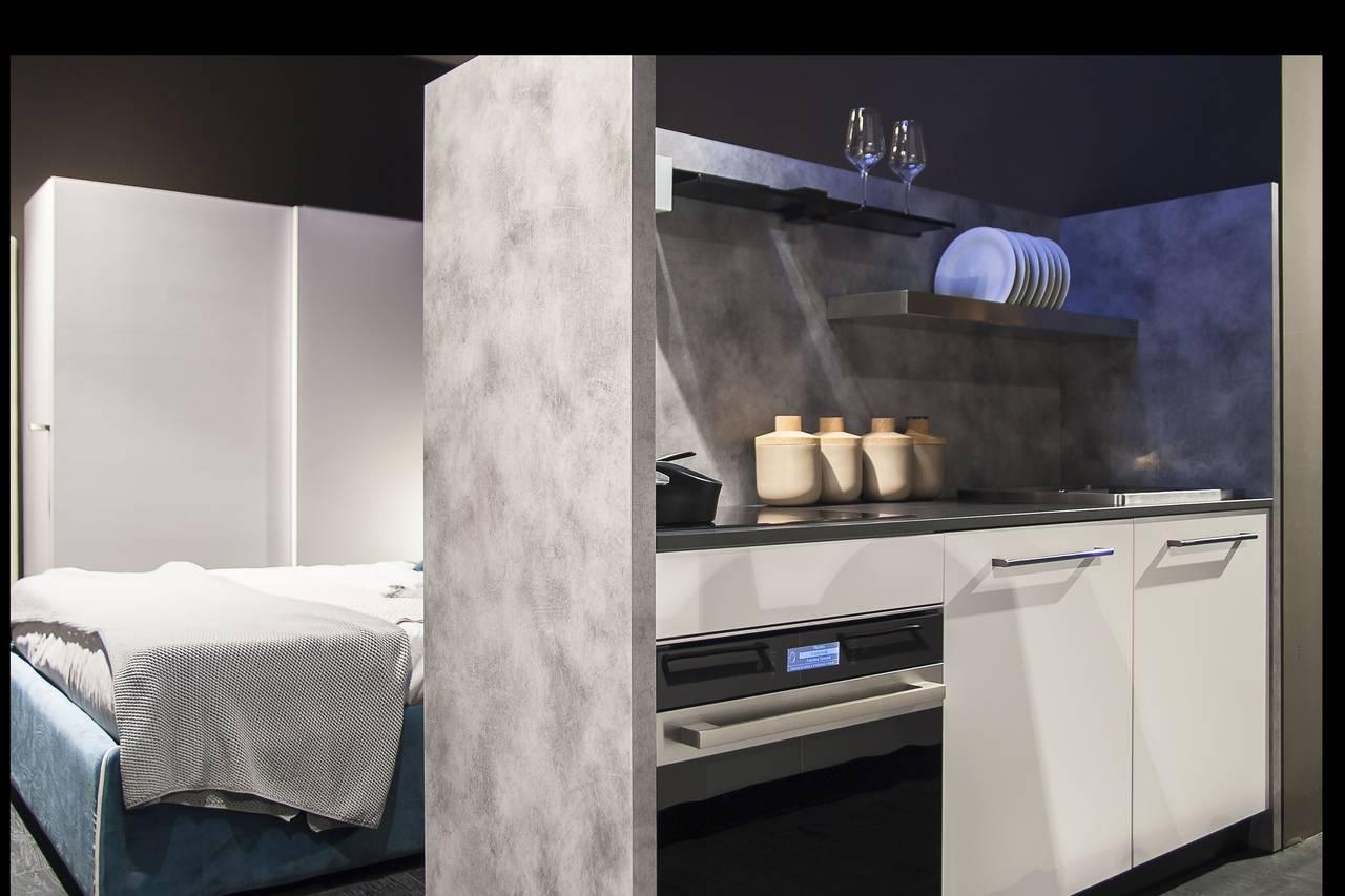 Primo Piano Sulla Cucina Febal Inserita Nel Progetto Swap Kitchen, Premio  Febal Lab 2016, Febal Casa