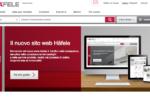 Nuovo sito per Häfele Italia