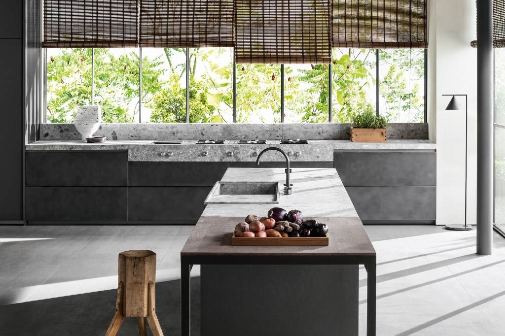 Marmo, pietra e granito per cucine super-chic   Ambiente ...