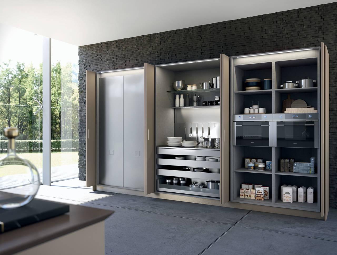 Cucine Armadio A Scomparsa. Stunning Cucine Armadio Prezzi Ideas ...