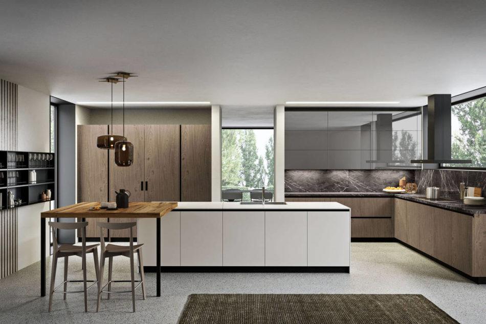 LAB13, protagonista del nuovo store milanese di Aran Cucine