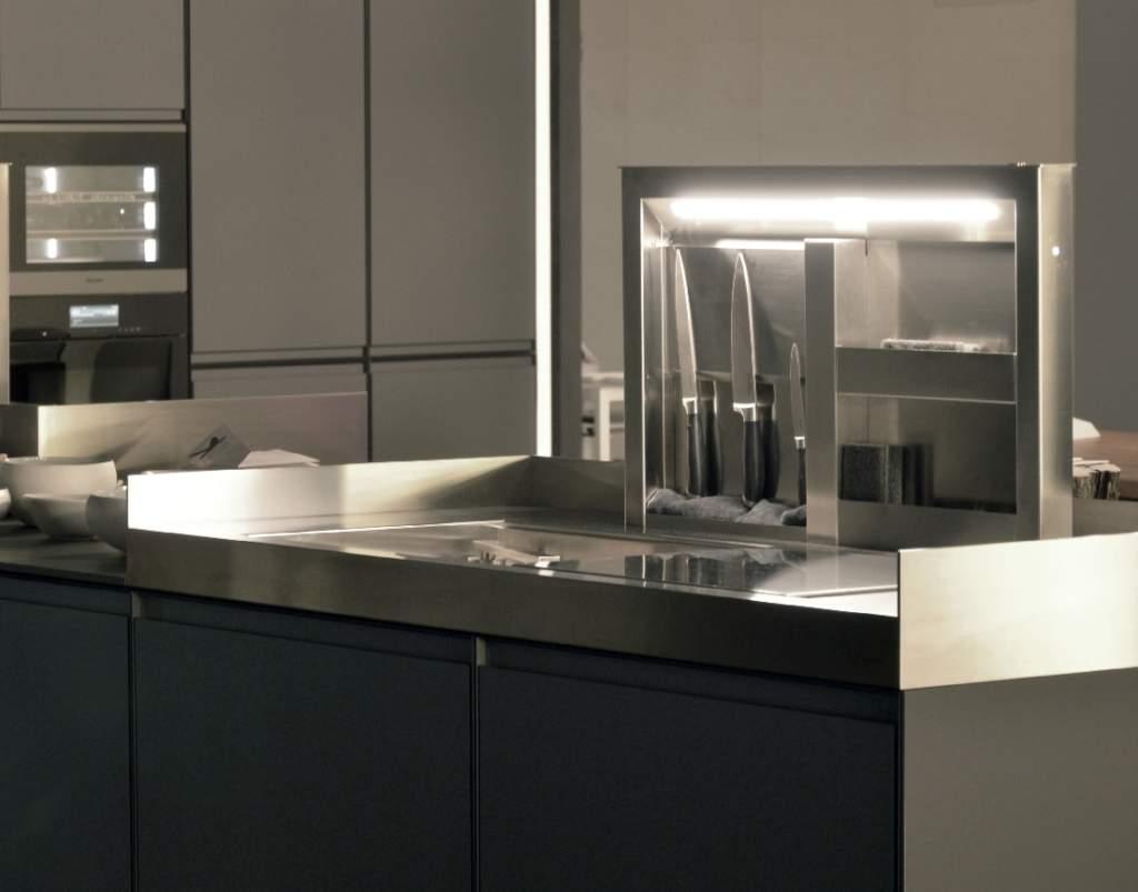 Rame, ottone, acciaio e alluminio per cucine scintillanti  Ambiente Cucina